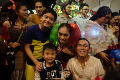 Kuya Noel, Tita Joan and Tito Welwel