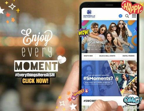 SM Supermalls website banner