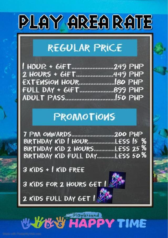 kidshappytime rates
