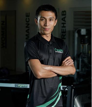 John Joseph Ogacion Sante Fitness Lab Coach Sports Nutritionist Marathon Finisher