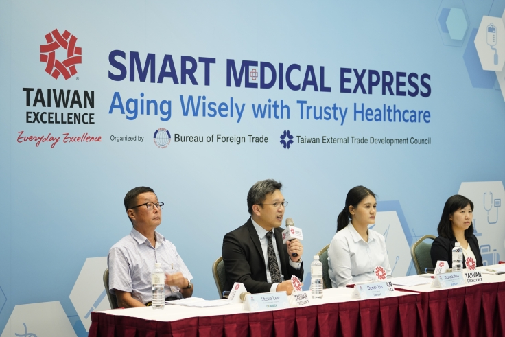 4 innovative brands showcased their products at Taiwan Excellence online product launch on Sept. 16