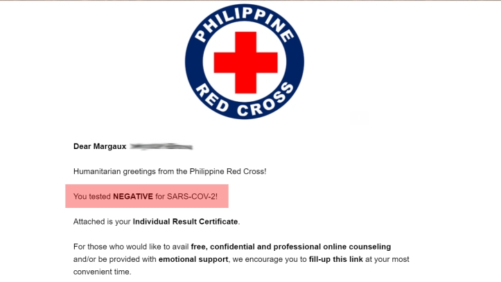 redcross saliva test rtpcr 9