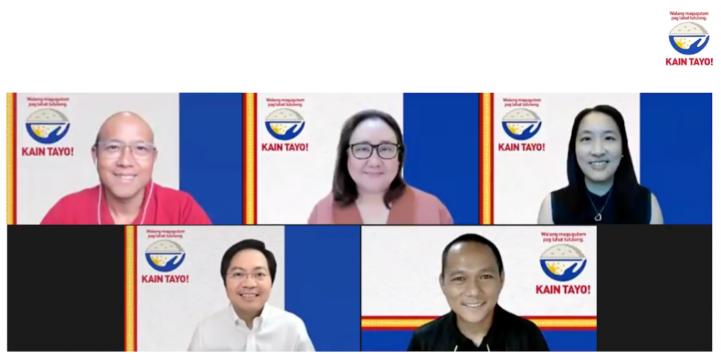 Kain Tayo Pilipinas speakers