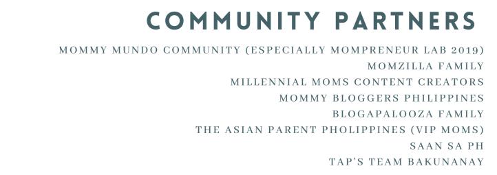 Mommy community partners